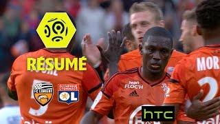 FC Lorient - Olympique Lyonnais (1-0)  - Résumé - (FCL - OL) / 2016-17