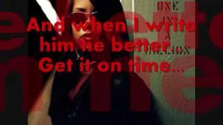 Aaliyah - 4 Page Letter (Lyrics)
