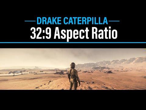 Star Citizen - 32:9 (CHG90) Aspect Ratio - Drake Caterpillar - 4K 60fps