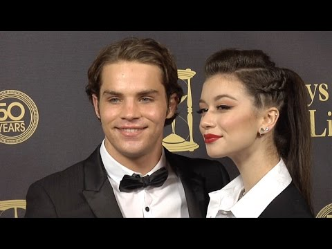 James Lastovic & Paige Searcy Red Carpet Style at Days of Our Lives 50 Anniversary Party