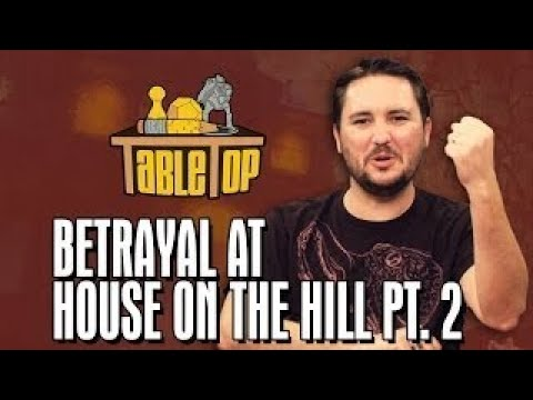 Betrayal at House on the Hill: Ashly Burch, Keahu Kahuanui, Michael Swaim join Wil on Tabl