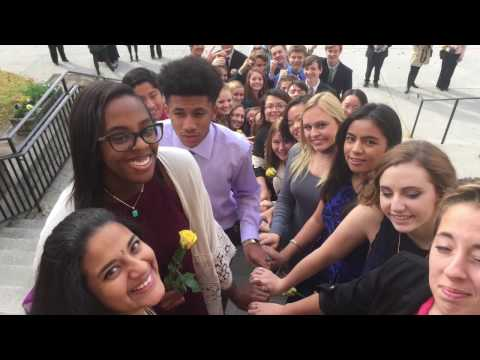 Roanoke Catholic School RING DAY