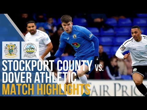 Stockport Dover Ath. Goals And Highlights
