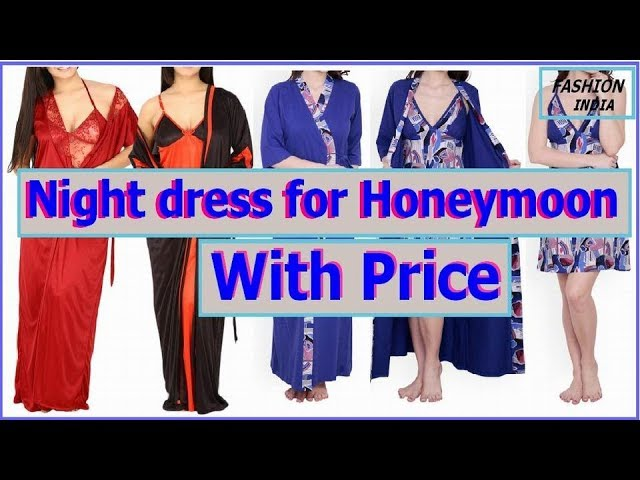 Night dress for honeymoon with price // fancy nighty//short nighty// long nighties set//nighty