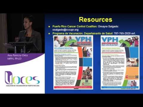HPV Clinical Studies in Puerto Rico - Ana Patricia Ortiz, PhD