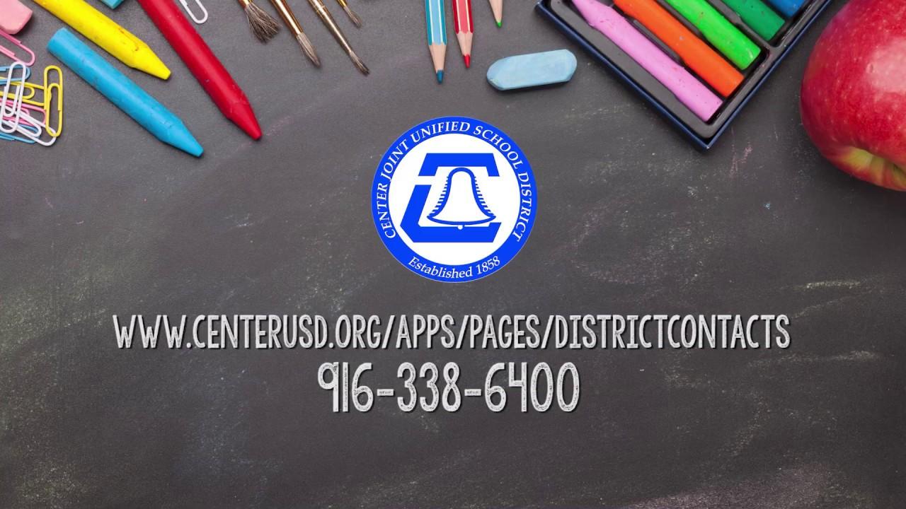 Center USD Kindergarten Registration 2020
