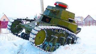 Construyeron Su Propio Tanque!