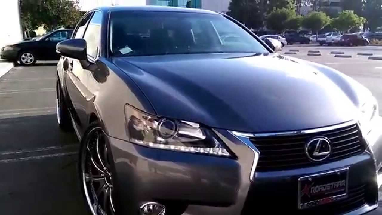 2014 Lexus Gs 350 Staggered 22 YouTube