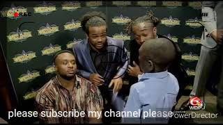 WWE, Superstars did Jarrius Robertson interviews he made so funny, I hope you enjoy this 100%