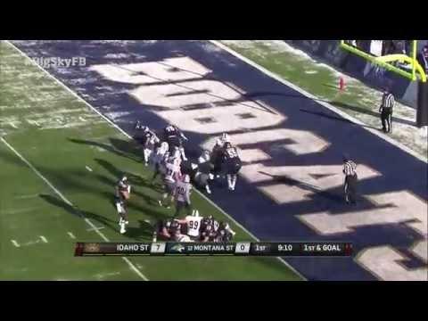Idaho State at Montana State - Big Sky Football Highlights