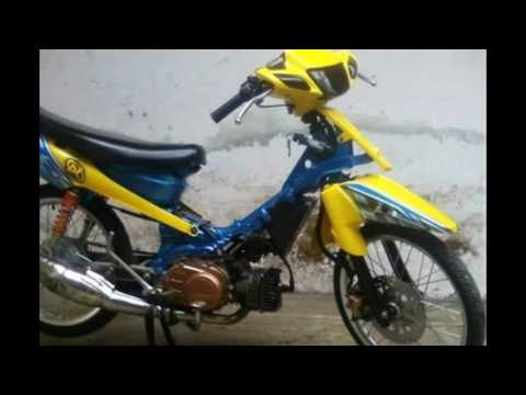 Cah Gagah Video Modifikasi Motor Yamaha Fiz R Drag