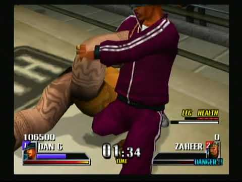 Def Jam Vendetta - Dan G vs Zaheer @ The Face Club