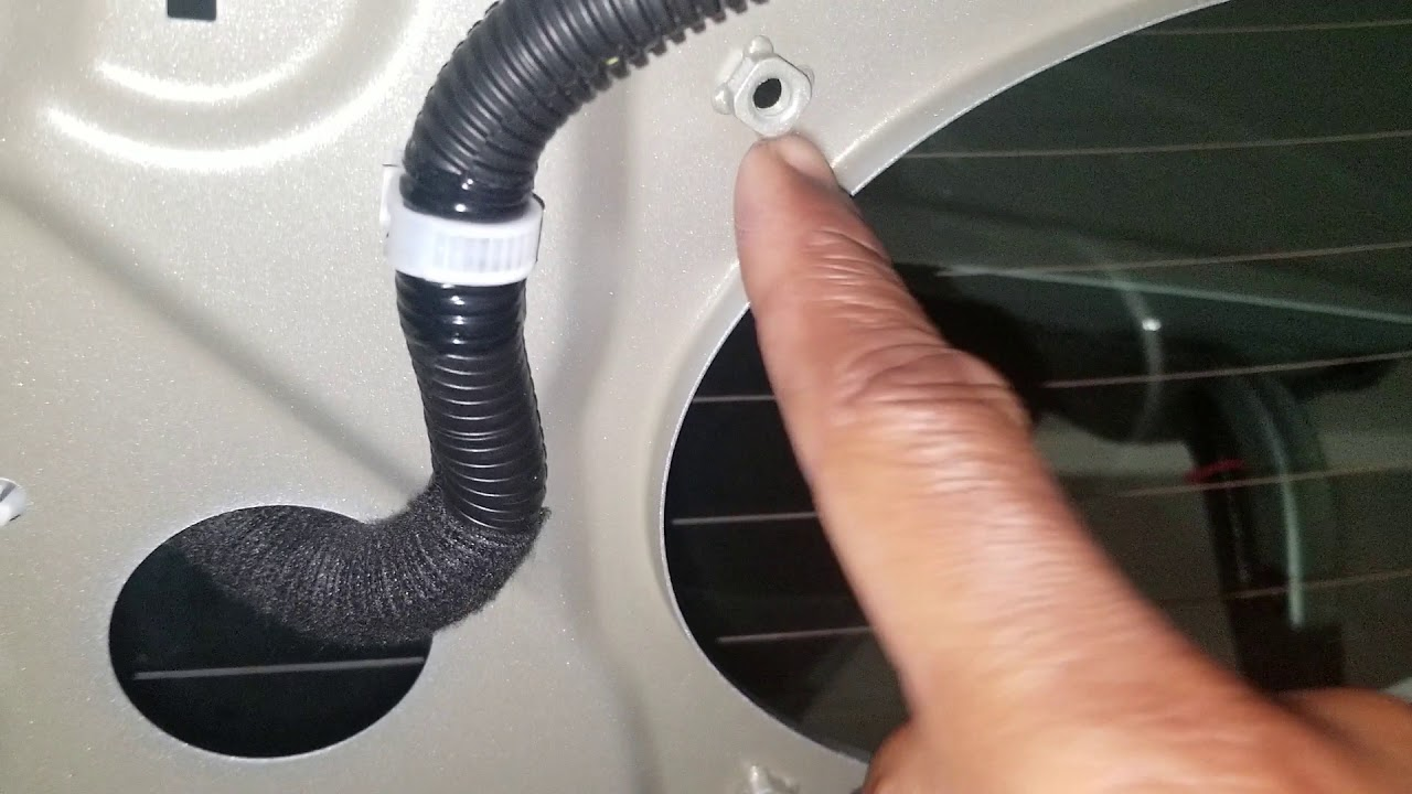 Nissan Sentra Wiring Diagram 2016 2001 Pontiac Montana Engine Speakers Wire Youtube