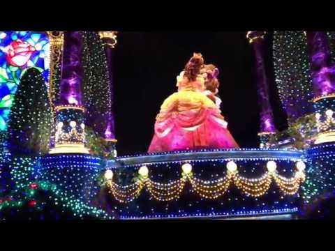Tokyo Disneyland Christmas Night Parades - Complete Part 4 HD