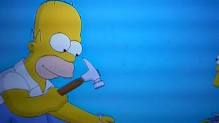 the simpsons movie ending