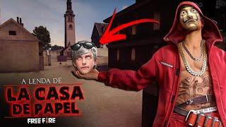 O MISTERIO DE LA CASA DE PAPEL! HISTÓRIAS DE TERROR DO FREE FIRE