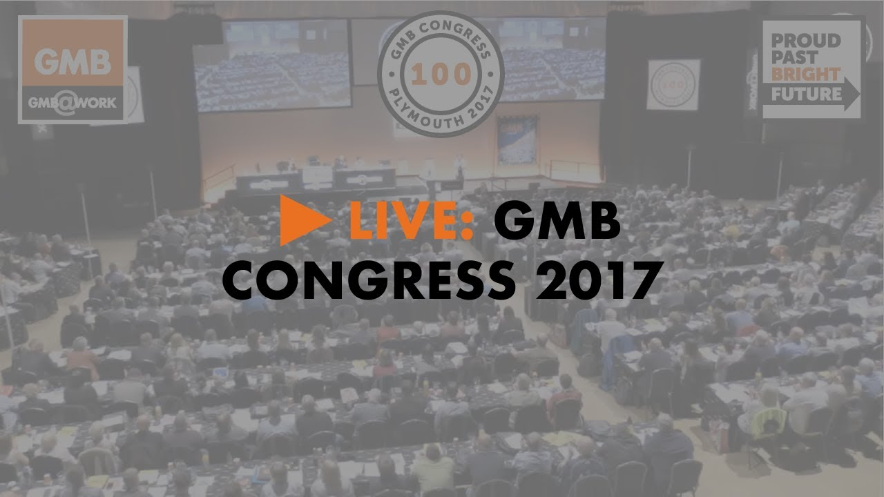 GMB Congress 2017 - Day 1, morning