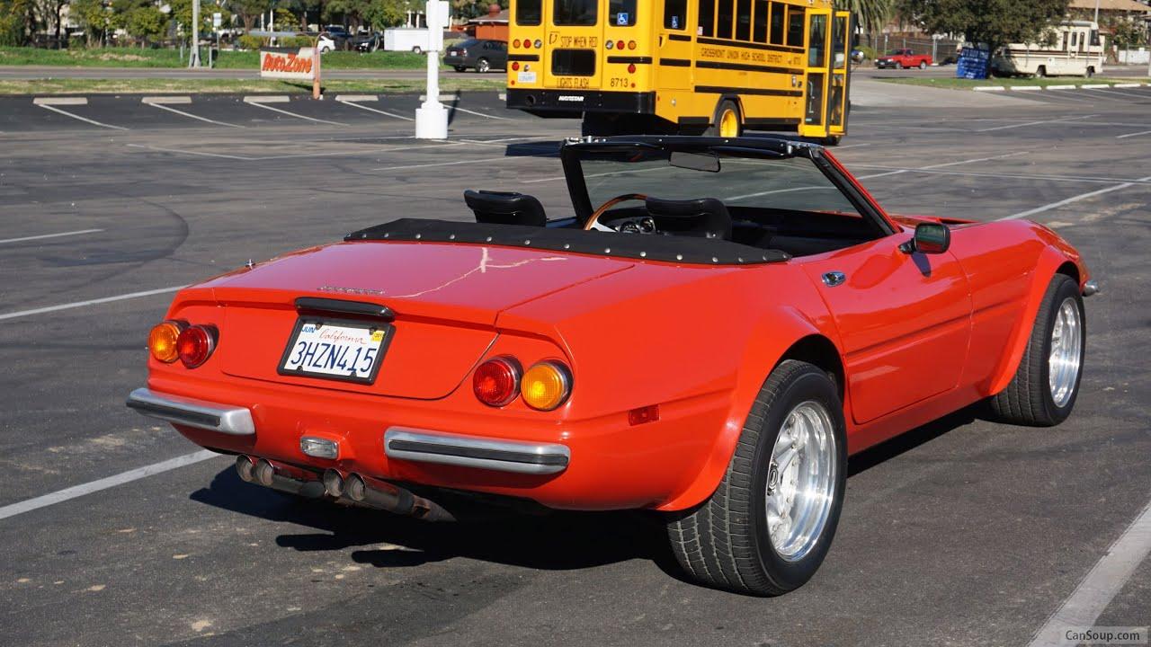 Daytona Spyder Ferrari 365 Gtb Gts California Drophead