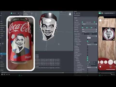Atomic Digital maakt hele coole campagne Coca Cola en SNAP AR lens