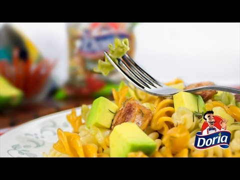 Tornillos Verduras Doria con Queso y Chorizo