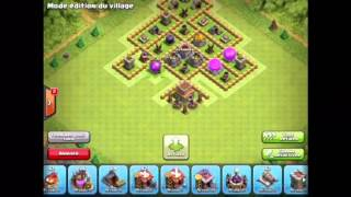 Village TROLL HDV 8 Efficace ! - Clash Of Clans
