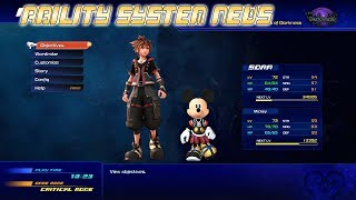 Kingdom Hearts 3 Ability System News Update/Thumbnail Tutorial