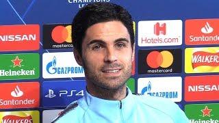Mikel Arteta Full Pre-Match Press Conference - Manchester City v Lyon - Champions League