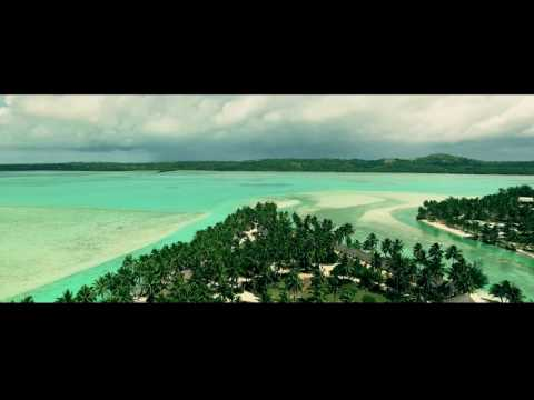 Aitutaki Cook Islands Vacation Drone Footage