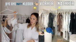 Vlogmas #4: Das Partykleider Ausmisten 🗑  Part 1/2 (nur neutrale Farben haha) -Adorable Caro