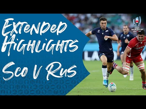 Extended Highlights: Scotland 61-0 Russia - Rugby World Cup 2019