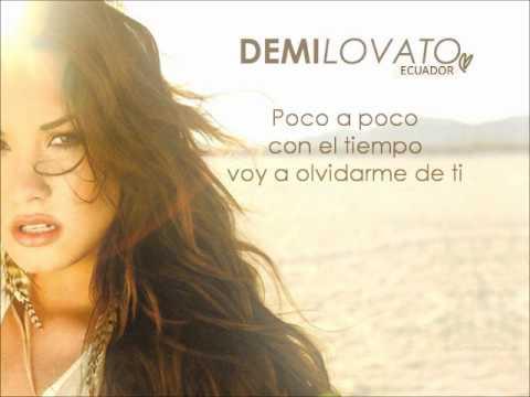 Rascacielo (Skyscraper) - Demi Lovato Letra Original