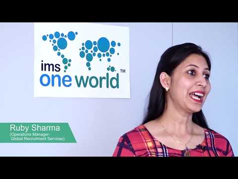 Ruby Sharma's Experience of Working at IMS one world