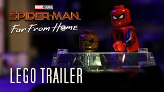 Spider-Man: Far From Home Trailer #2 in LEGO