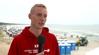 Interview mit Valentin Wernz - 1. Bitburger 0,0% Triathlon-Bundesliga Ostseebad Binz