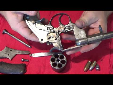 Disassembly/Assembly and loading the French 1873 Ordnance Revolver