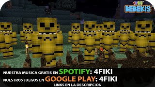 APOCALIPSIS DE GOLDEN FREDDY FNAF - base vs apocalipsis - MINECRAFT BEBE AENH