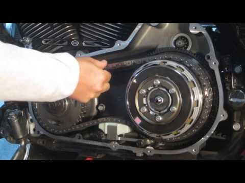Hayden M6 BT07 Primary Chain Tensioner Install on 2009 Roadking