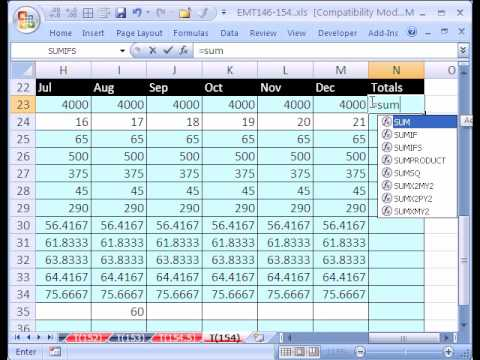 excel magic trick 154 personal budgets and vlookup youtube