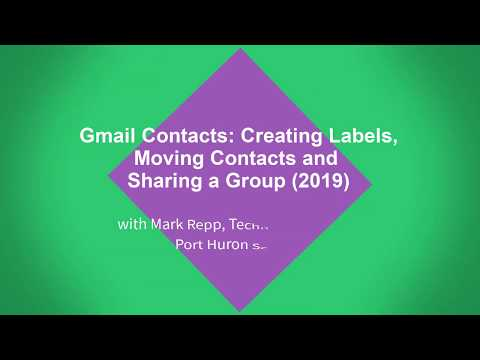 How to make a group email in gmail 2019