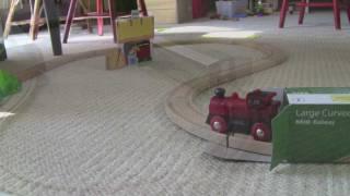 Brio Wooden Model Train: Level 2: Fun On The Farm Starter Set