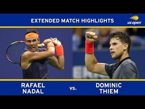 Rafael Nadal vs. Dominic Thiem   2018 US Open, QF
