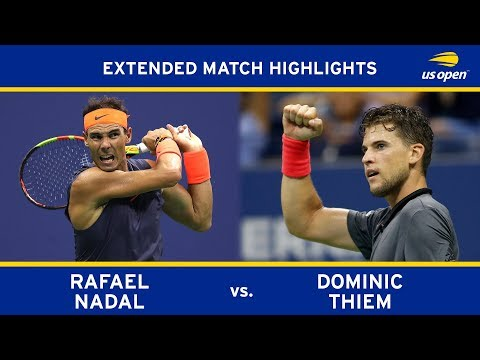 Rafael Nadal Vs Dominic Thiem Us Open 2018 Quarter Final Youtube