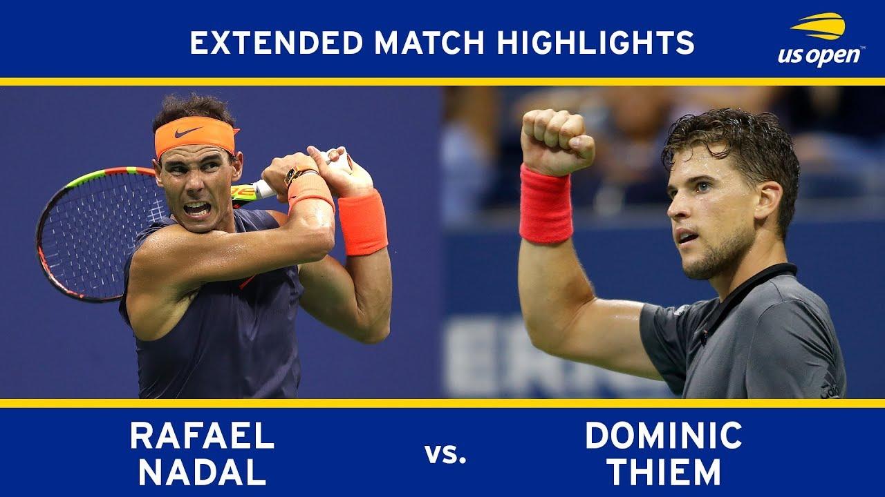 Rafael Nadal Vs Dominic Thiem Us Open 2018 Quarter Final Youtube