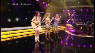 "[DK] X Factor 2010 - The Fireflies synger Shania Twain ""Youre Still the One"" - LIVE SHOW 1 [HQ]"