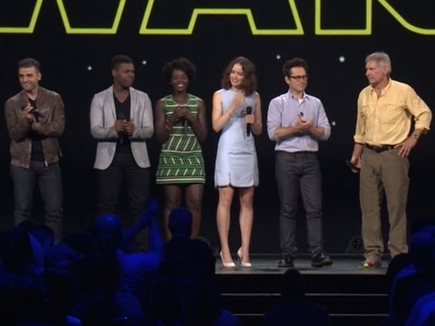 Harrison Ford Joins Star Wars Cast at D23 Event