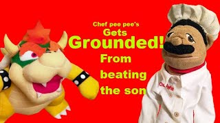 Sml short chef pee pee gets grounded from beating the son