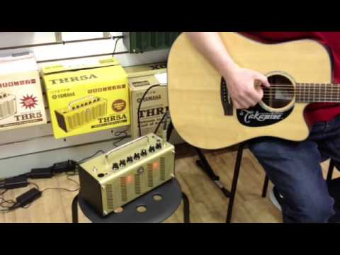 takamine eg340sc electro acoustic guitar demo with yamaha thr5a amplifier youtube. Black Bedroom Furniture Sets. Home Design Ideas