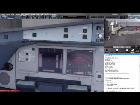 Prepar3D 3.4.9 - with my new A320 reference check