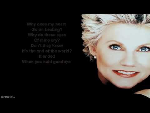 Anne Murray + End Of The World + Lyrics/HD