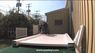 Vinyl Fence Gate Installation Video From Www.usavinyl.com